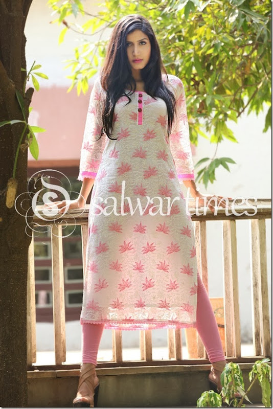 Umair Zafar's_Chikankari_Summer_Collection_2014(3)