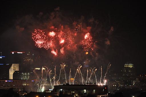 2009 WEBN fireworks