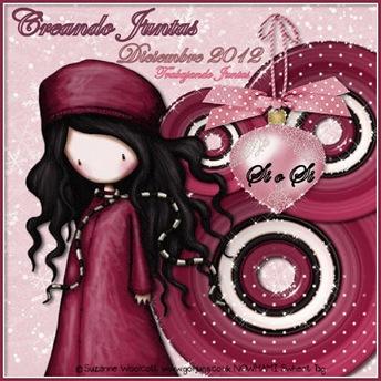 CARTEL TJ DICIEMBRE 2012  -SI O SI- CREANDO JUNTAS