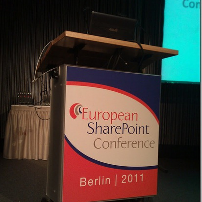 Conferencia europea de SharePoint: tercer día