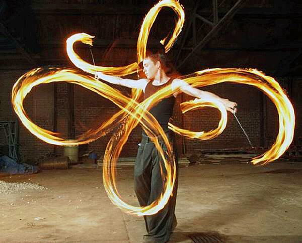 Amazing Art of Playing with Fire