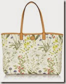 Tory Burch Floral Print tote