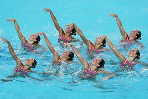 synchronized-swimming