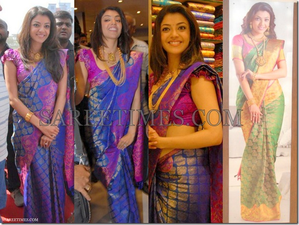 Kajal_Traditional_Silk_Saree