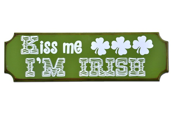 Kiss Me Im Irish Sign