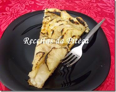 Tarte de maçãs-fatia