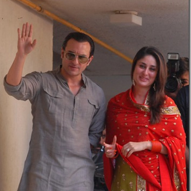 Kareena flies down to Lucknow!