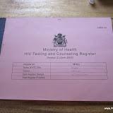 HIV registratie boek