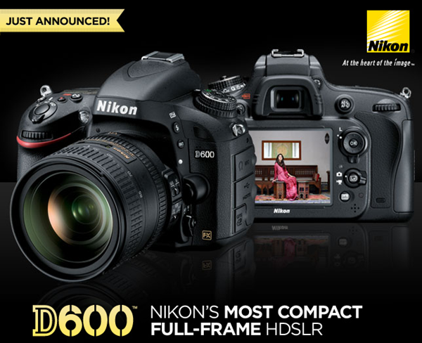 D600 available for pre-order