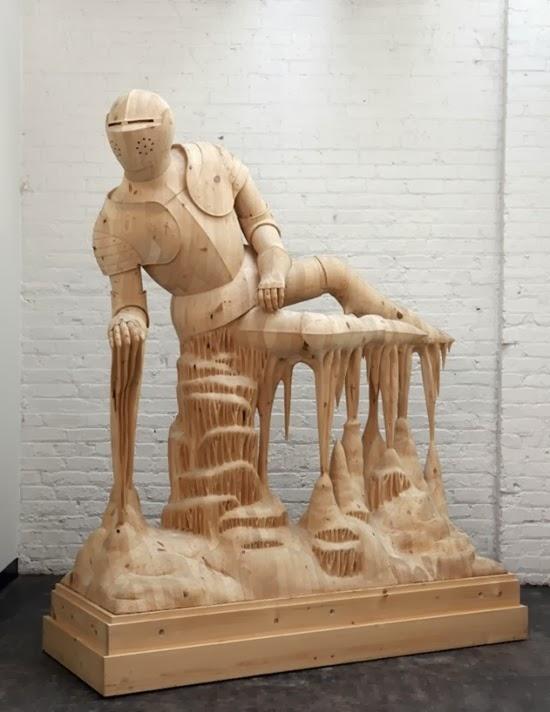 Esculturas surreiais  de Morgan 02