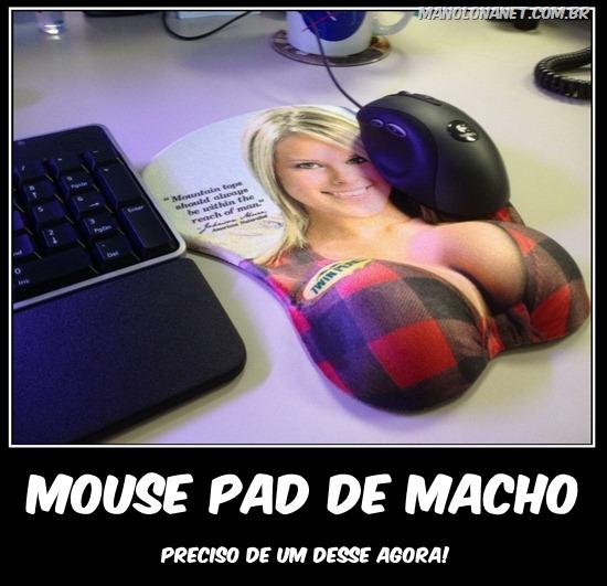 Mouse Pad de  Macho