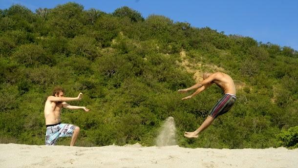 saltando ecuador