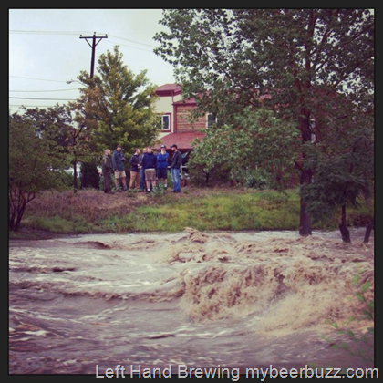 Flood Waters Threaten Left Hand Brewing - Colorado Flood Updates ~ mybeerbuzz.com - Bringing Good Beers & Good People Together...
