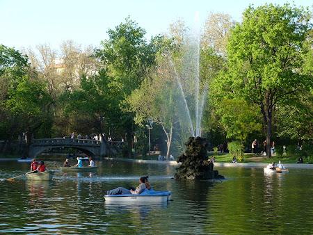 Parcuri Bucuresti: parcul Cismigiu