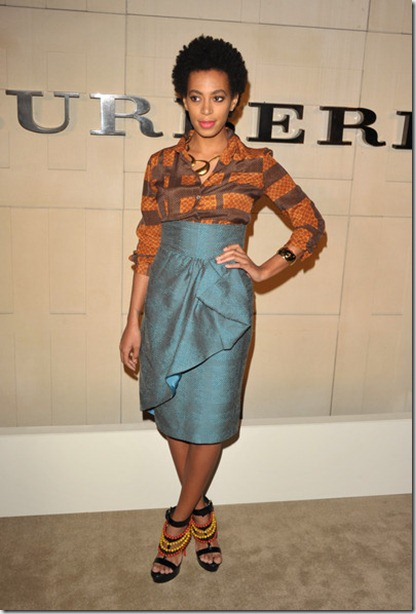 Solange Knowles Burberry Body Launch Arrivals divlJxV2qerl