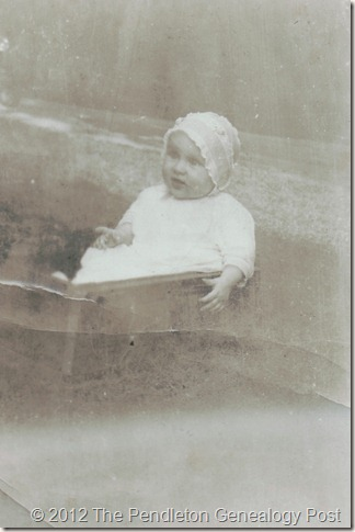 Leona Redles as baby copy