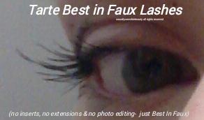 Tarte Best in Faux Lash Extension; False Lash Fiber Mascara