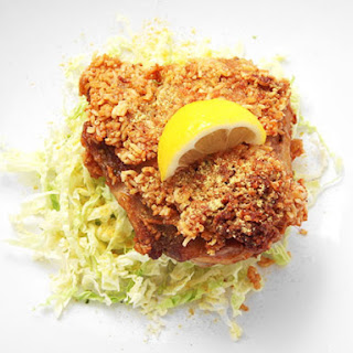 Ramen-Crusted Fried Chicken