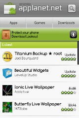 applanet app android