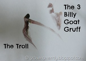 The 3 billy goat gruff
