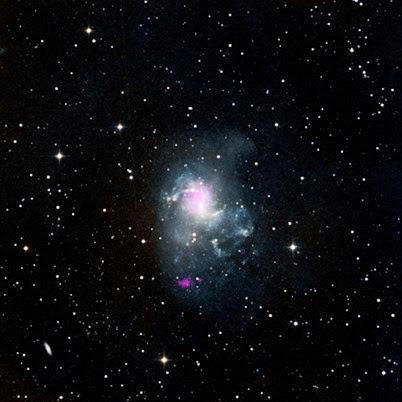 galáxia NGC 1313