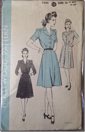 Vintage Hollywood Pattern 1244 | Lavender & Twill