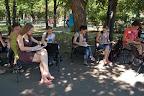 Галерея Школьные художники - участники арт-пленэра