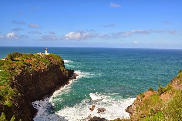 可愛島北岸的燈塔