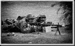 MG34 firing