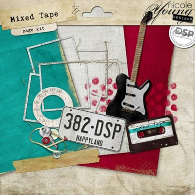 Mixed Tape Page Kit