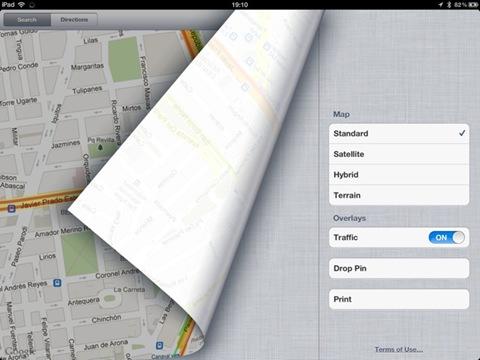 trafico en google maps desde ios