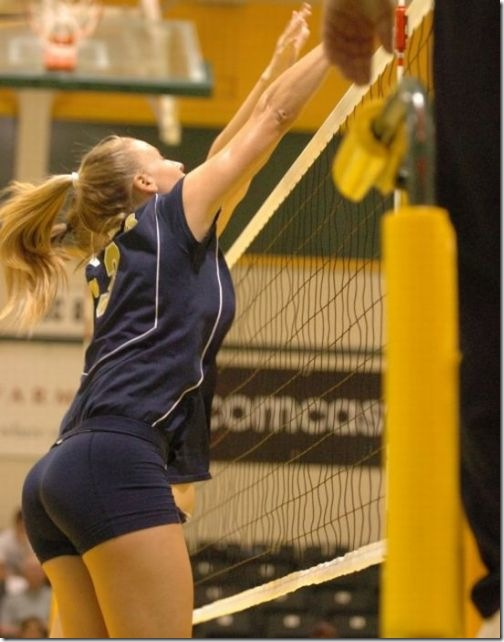 sexy girls volleyball shorts 19