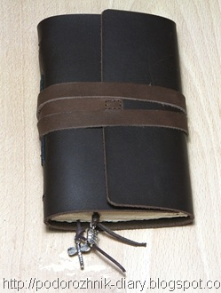 кожаный блокнот 6
