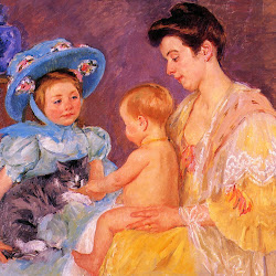 Mary Children Playing with a Cat 1908.jpg