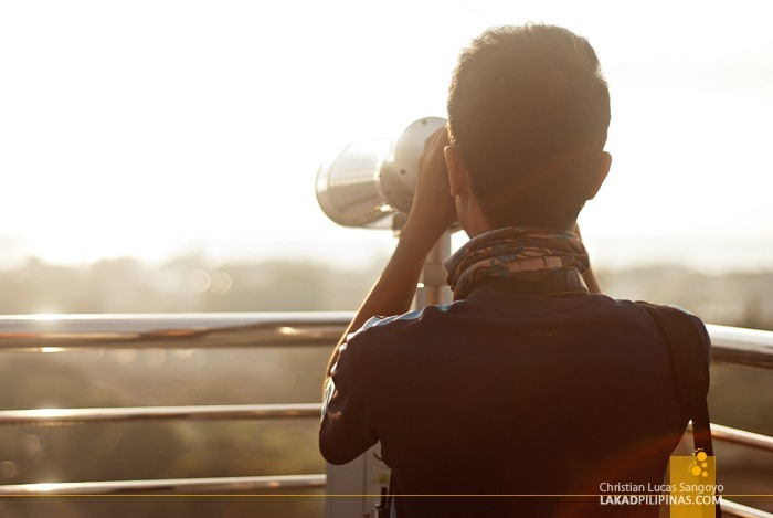 Powerful Binoculars Scanning Dipolog City