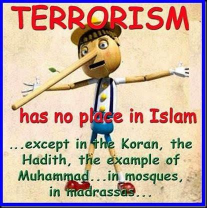Islam Terrorism Lie