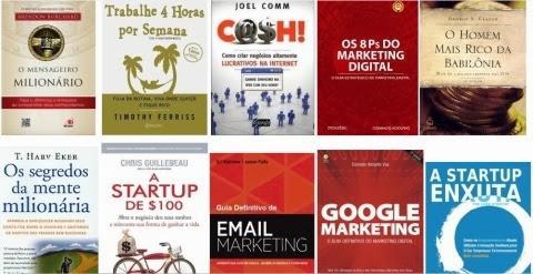 Os melhores livros sobre empreendedorismo e marketing digital