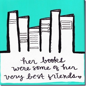 books = best friends