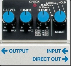 dd3 digital delay dd-3 boss pedales efectos