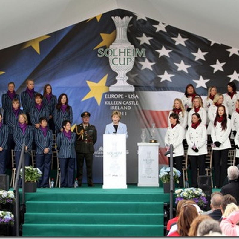 US Olympic Ski Team Dressed For Solheim Cup