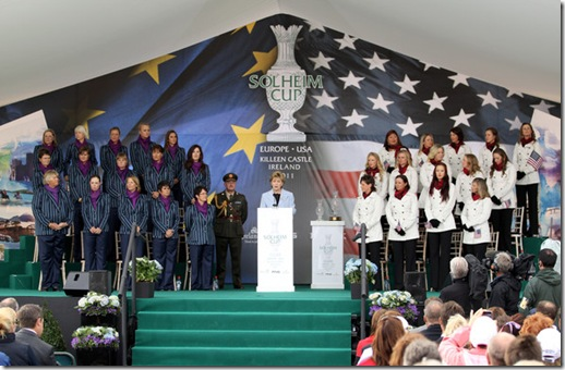 solheim cup opening
