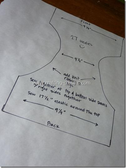 Use freezer paper as pattern paper (5)