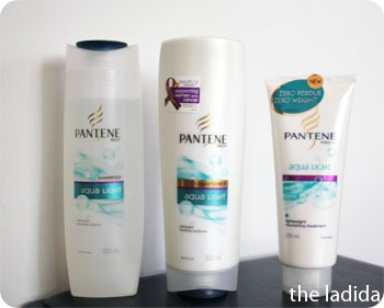 Pantene Aqualight Shampoo Conditioner Treatment (2)