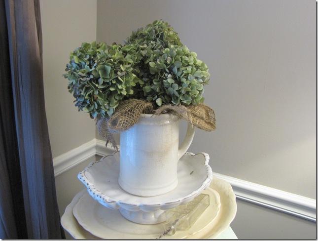 hydrangeas pitcher