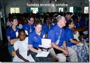 Sunday morning service tagged