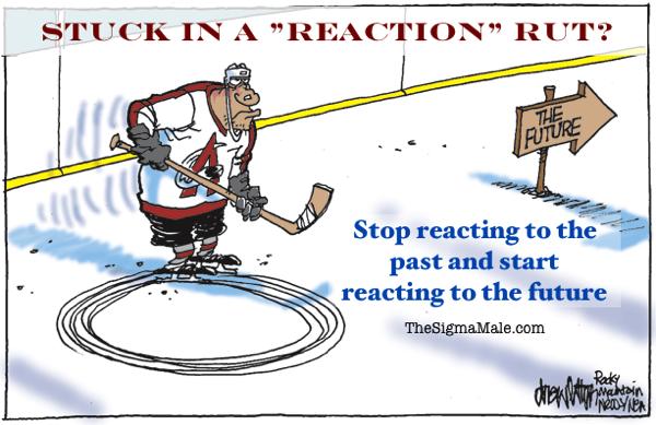 Reaction rut