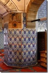 C'est l'un des plus beaux exemples du style ottoman.