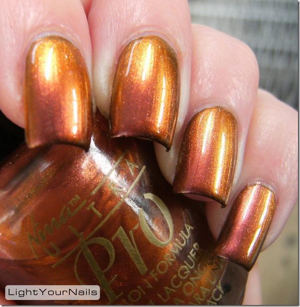 Nina Molten Gold