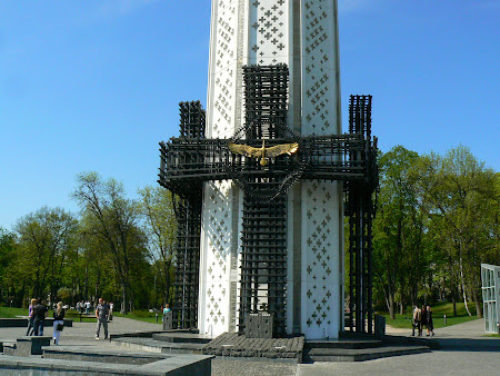 3. Famine monument Kiev.JPG
