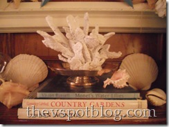 white coral, decor, summer,faux